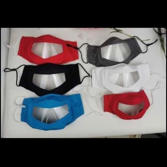 Accessories - Clear mask